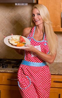 Love her site - great exercise tips and Sample high protein meals...from a women! :-)