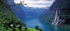 Fjords of Norway... another possible honeymoon destination