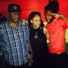 Street Guru Stampede, Music Media Management & International Reggae Artist Nesbeth @ Paul Elliott Album Launch - Kingston Jamaica June 2015 ... #medianet55