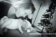 Reagan's first Christmas! Newborn session went really well