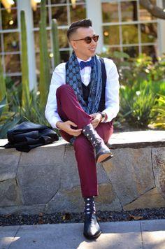 Dapper #BowTie look indeed!