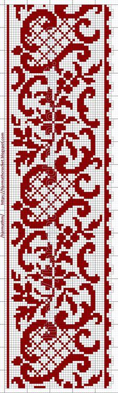 Cross Stitch Borders, Cross Stitch Samplers, Cross Stitch Designs, Cross Stitch Patterns, Beaded Embroidery, Embroidery Stitches, Embroidery Patterns, Crochet Patterns, Filet Crochet