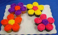 Flowers cupcake cakes