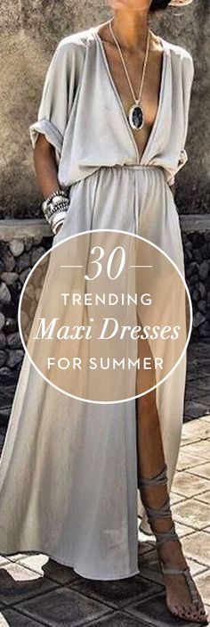 30 Trending Maxi Dresses For Summer