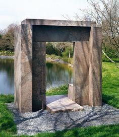 Portal Meidum, USA, 1991 Zimmerman, Sculptures, Stone, Frame, Portal, Usa, Home Decor, Picture Frame, Rock