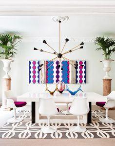 Bring on the retrofunk - desire to inspire -  #InteriorDesign