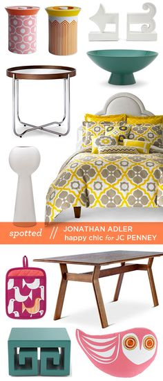 jonathan adler happy chic at jcpenney