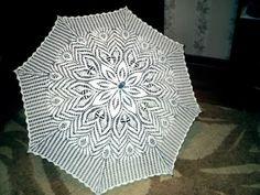 Parasolki - Urszula Niziołek - Picasa Web Album Form Crochet, Crochet Diagram, Filet Crochet, Crochet Motif, Crochet Doilies, Crochet Lace, Crochet Patterns, Lace Parasol, Umbrellas Parasols
