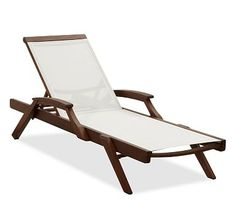 Chatham Mesh Stacking Single Chaise, Set of 2 #potterybarn