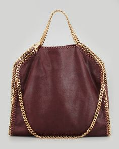 Stella McCartney Falabella Fold-Over Shoulder Bag, Need the burgundy one  too. Its 339d3dd498