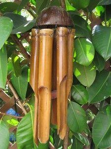 carillons en bambou des objets simples sobres et naturels pinterest mobiles et art. Black Bedroom Furniture Sets. Home Design Ideas