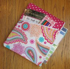 Planner Pouch / Case for Erin Condren Life Planner (ECLP) and Plum Paper Planner, Paisley, Pink, Polka Dot, Gift by SarieMae3 on Etsy https://www.etsy.com/listing/207497183/planner-pouch-case-for-erin-condren-life