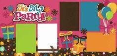 It's My Party - Girl Page Kit