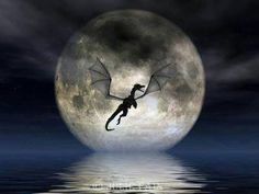 Welcome to Fantasy Silhouettes, home to the magical artwork of Julie Fain. You'll find the artist's vibrant, unique fairy and fantasy creations. Indulge the fantasy within with our beautiful fairy & fantasy inspired art & gifts! Dragon Moon, Dragon Art, Dragon Pics, Fire Dragon, Magical Creatures, Fantasy Creatures, Fantasy World, Fantasy Art, Dragon Medieval