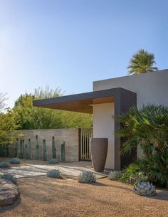 zeterre landscape architects / old las palmas residence, palm springs #LandscapeArquitecture