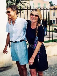 Brigitte Bardot y Bernard d'Ormale