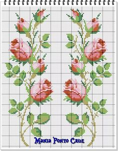 1 million+ Stunning Free Images to Use Anywhere Cross Stitch Rose, Cross Stitch Borders, Cross Stitch Flowers, Cross Stitch Charts, Cross Stitch Designs, Cross Stitching, Cross Stitch Embroidery, Embroidery Patterns, Hand Embroidery