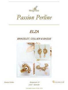 Schéma collier boucles d'oreilles et bague ELZA par PASSIONPERLINE https://www.etsy.com/fr/shop/PASSIONPERLINE?ref=hdr_shop_menu