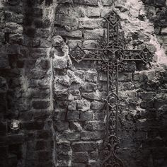 We're a product of our influences: northern grit and red brick mixed with Spanish outlook and ingredients! You'll find all sorts of details reflecting that across the whole of our building #threefloorsoftapas #hungryfortapas #cross #crucifix #ironwork #brickwork #hardwork #details #awardwinning #restaurant #manchester #manchesteruk #mcr #kingst