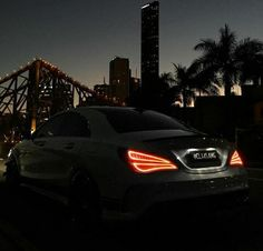 Another stunning Brisbane City Sunset. The CLA Lights at night are arguably one of the best by Mercedes ♕ ❤✨