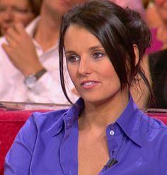 Faustine Bollaert nue Les plus jolies filles de la télé