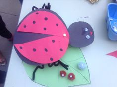 Craft from the Cupertino Children's Gardening Program #sccld