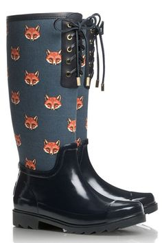 Foxy rainboots