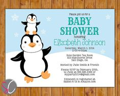 Pin By Tim Jones On Baby Shower Ideas Penguin Baby