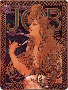 Job by Alfons Mucha 1996