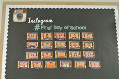 Technology Back To School Bulletin Board Idea