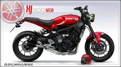 yamaha#xsr900#xj seca#special motorcycles#cafe racer#fster sons#street tracker