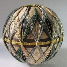 Posts about Kimekomi and Temari Balls written by eccentricquilter Temari Patterns, Styrofoam Ball, Flower Ball, Ball Ornaments, Loom Knitting, Color Themes, Christmas Tree Decorations, Japanese Art, Art Forms