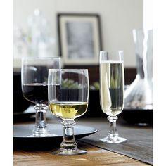 Suvi 8 oz. White Wine Glass in Wine Glasses | Crate and Barrel