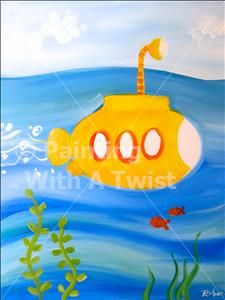 Kids Class!! - Painting with a Twist