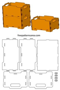 Laser Cut Stackable Mdf Storage Box Idea Free dxf cutting file for being cut by laser cutters. Laser cut storage box ideas you can cut from stackable thickness materials.