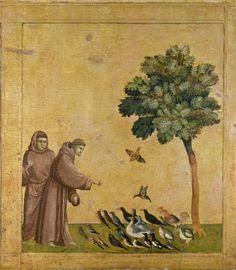 Détail de La Stigmatisation de Saint François d'Assise par Giotto di Bondone