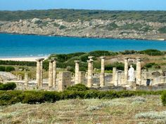 Ruins of Baelo Claudia, Bolonia, nearby Zahara - Spain