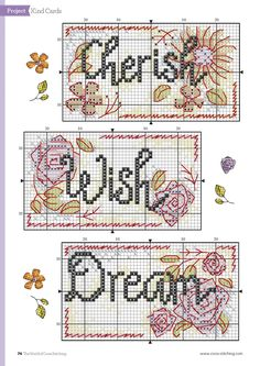 Stitch Some Happiness (Durene Jones) From The World of Cross Stitching N°243 July 2016 5 of 5
