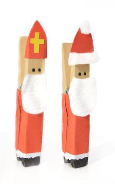 Sinterklaas wasknijper