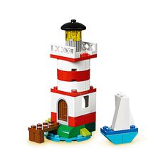 Lego instructions for multiple  things... lighthouse, penquins, fish, boats, etc.