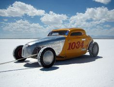 Speeding galore at the Bonneville Salt Flats......