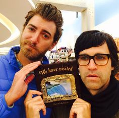 Rhett and Link when they were in Canada