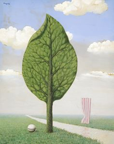 René Magritte - La Géante, 1936