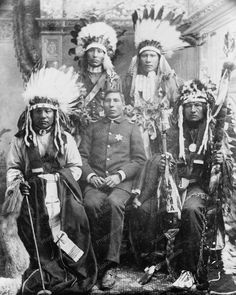 Sioux Indian Tribe Portrait Vintage 8x10 Reprint Of Old Photo