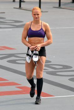 Annie Thorisdottir! She's a beast, you should see her WOD's! #crossfit