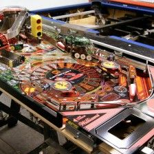 Bespoke pinball for your games room. A custom made 'La Ferrari' pinball featuring cars form our clients private motor collection. Games Room Inspiration, Pinball, Game Room, Bespoke, Basement, Cars, Collection, La Ferrari, Living Room Playroom