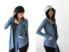 FREE SHIP 10% off Sweater Wrap Organic Womens Wrap by Kulayan