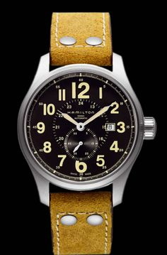 Hamilton Watch / Khaki / Field Officer Automatic