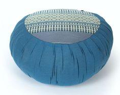 nice Meditation Cushion Zafu 16x8 inches Kapok Blue. Yoga Cushion Meditation Pillow Floor Cushion Zen Meditation Supplies Yoga Accessories  #16x8 #Accessories #Blue #Cushion #Floor #inches #Kapok #Meditation #Pillow #Supplies #Yoga #Zafu