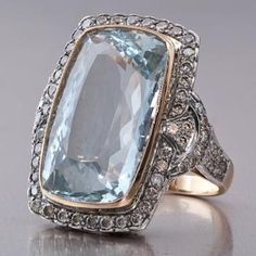 Vintage art deco dinner ring.
